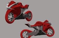 Moto futurista - Beatriz Conejero