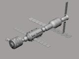 Estación espacial - María Juan