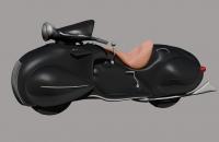 Motocicleta 1930 Henderson - Génesis Peña
