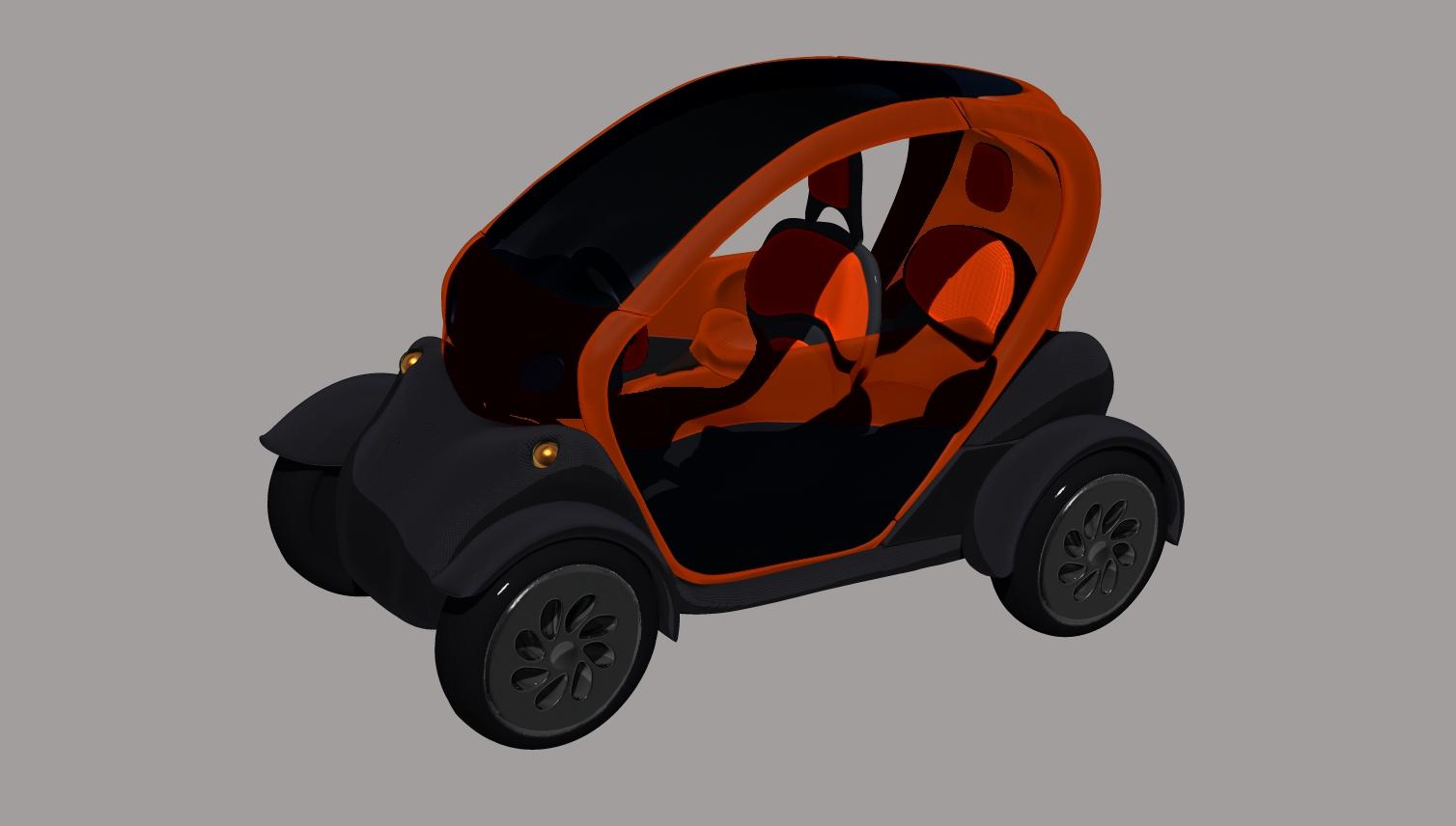 Renault Twizy - Mariia Mosunova