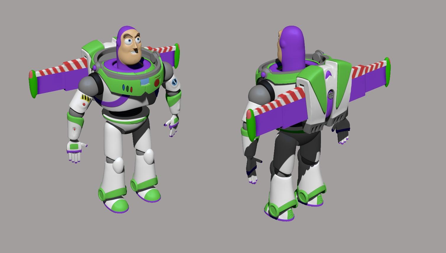 Buzz Lightyear - Sergio Hernández