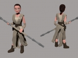 Rey (Star Wars) - Sara Felip