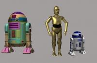R2D2 y C3PO - Laura Acevedo