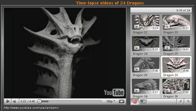 Los 55 dragones de Air, una auténtica inspiración.