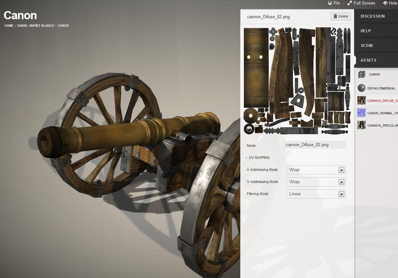 Una imagen del entorno 3D de Verold Studio