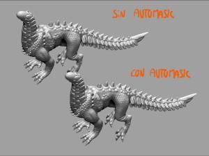 Probando el efecto de Automask.