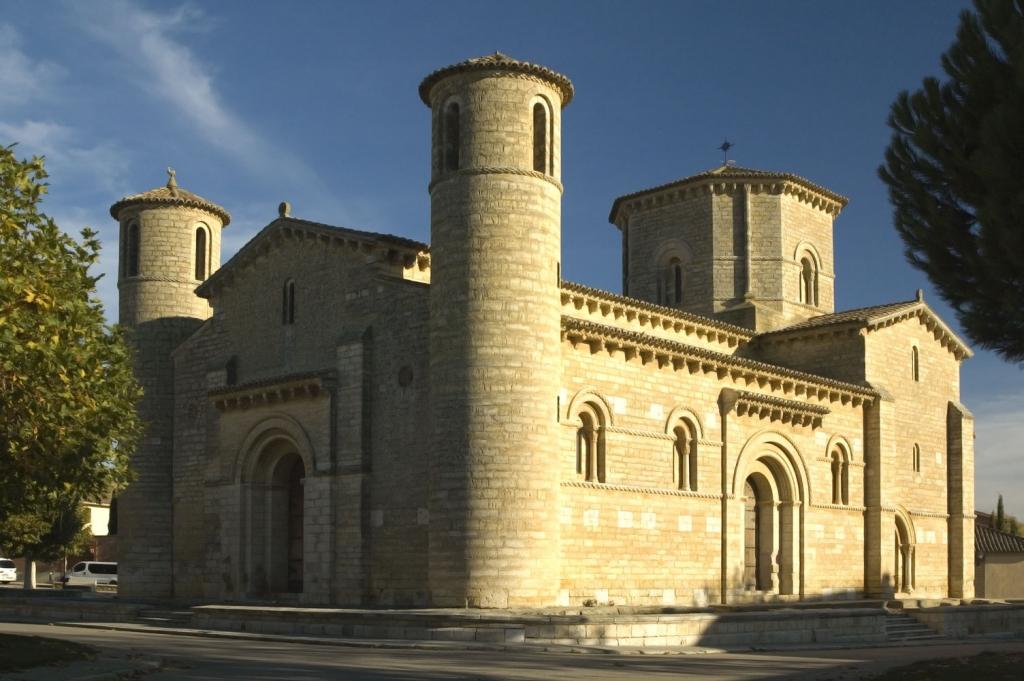 La iglesia de San Martín de Tours (Frómista, Palencia)