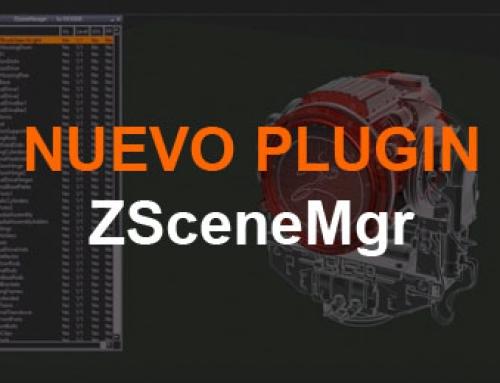 ZSceneMgr: un gestor de subtools para ZBrush