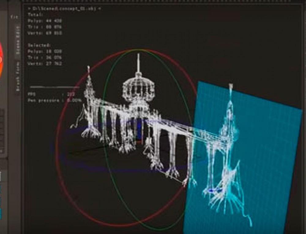 Polybrush: un nuevo software de escultura digital