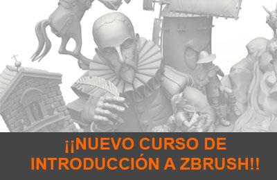 Curso de Introducción a ZBrush en junio!!