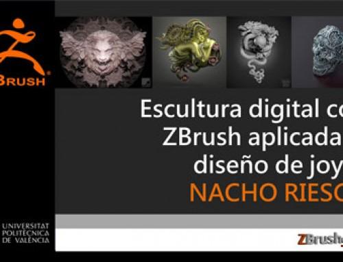 Publicado el vídeo de Nacho Riesco sobre ZBrush y joyería