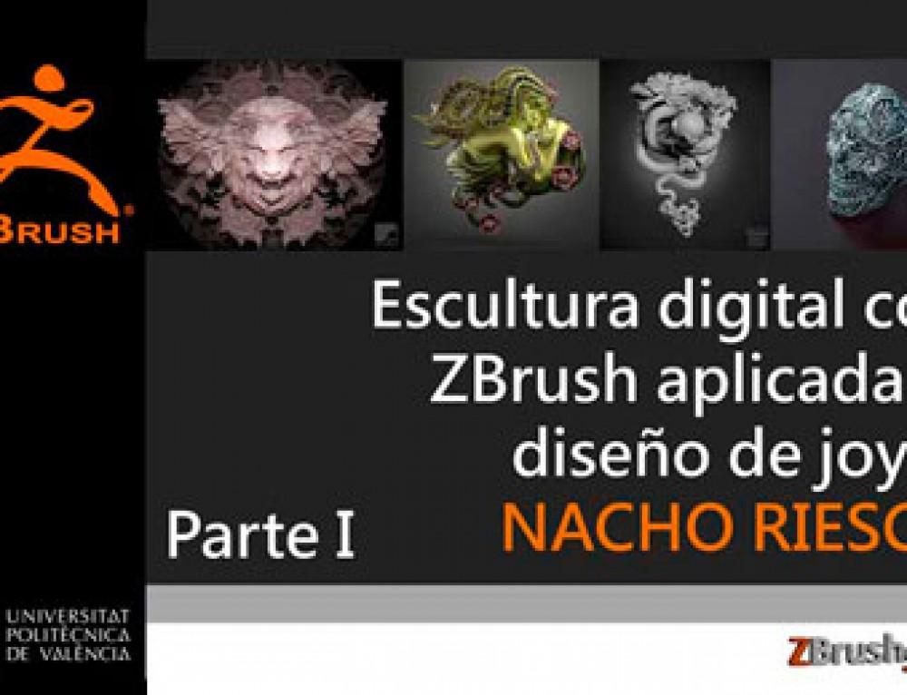 Escultura digital con ZBrush aplicada al diseño de joyas (I)