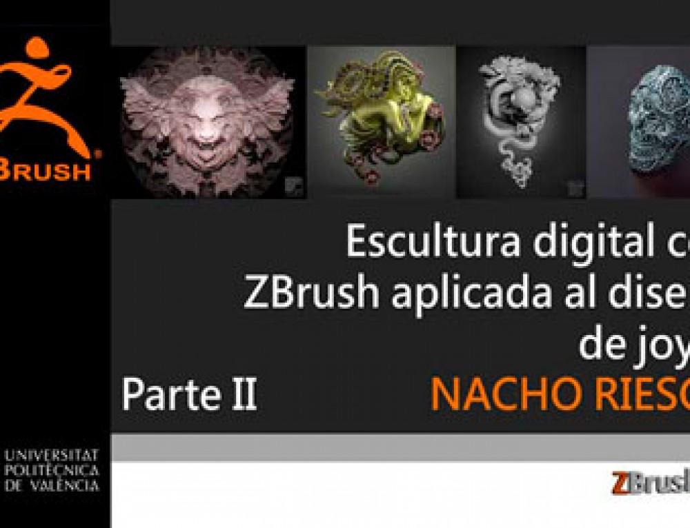 Escultura digital con ZBrush aplicada al diseño de joyas (II)