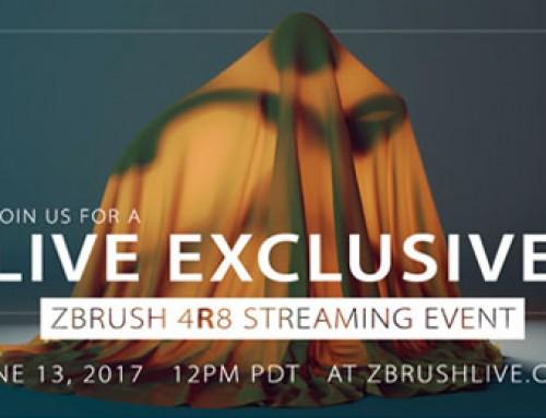 Presentación de ZBrush 4R8 en streaming