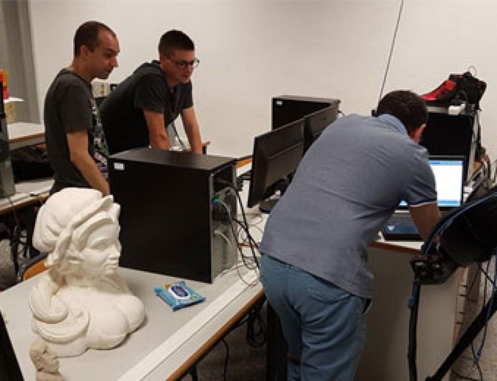 Finalizado el curso de ZBrush y digitalización 3D