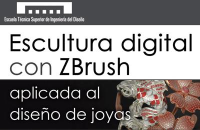 Un curso más, Nacho Riesco y ZBrush en la ETSID