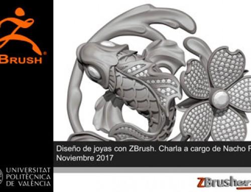 Diseño de joyas con ZBrush – Nacho Riesco