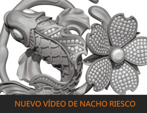 Nuevo vídeo de Nacho Riesco sobre ZBrush y joyería