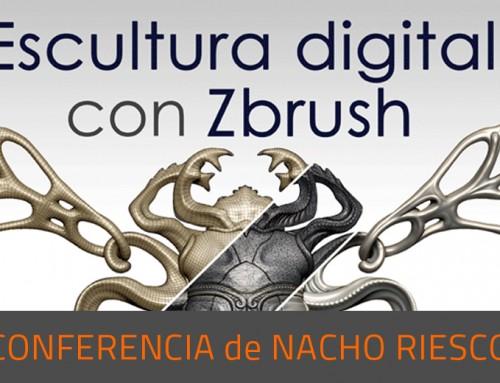 Nacho Riesco y ZBrush, de nuevo en la ETSID