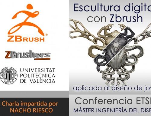 Diseño de joyas con ZBrush 2018- Nacho Riesco