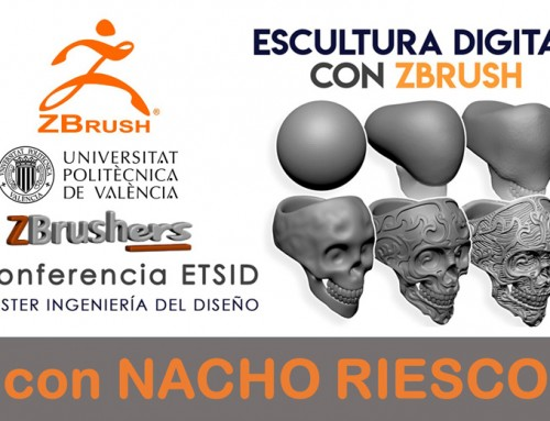Nacho Riesco visita de nuevo la ETSID para hablar de ZBrush