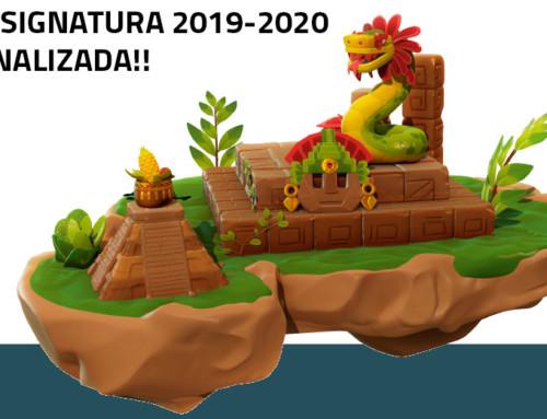 ¡Asignatura 2019-2020 finalizada!!