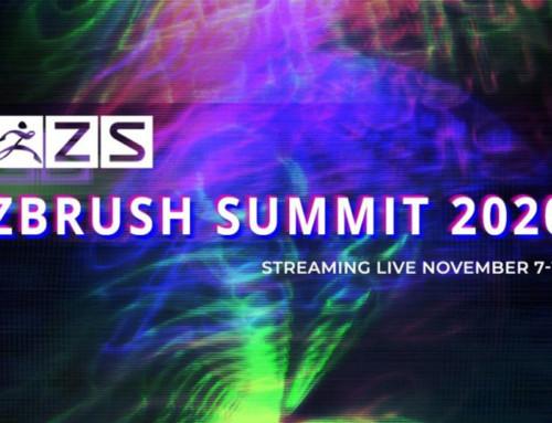 Finalizado el ZBrush Summit 2020