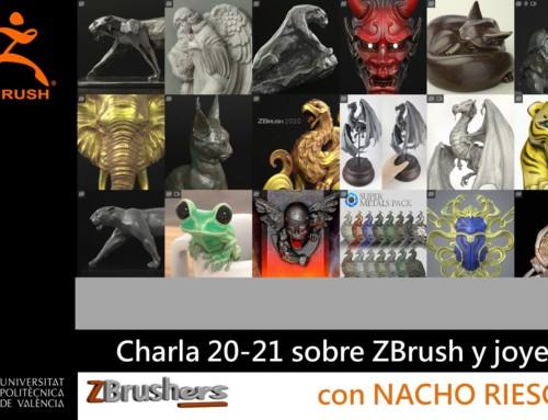 Diseño de joyas con ZBrush 2020 – Nacho Riesco