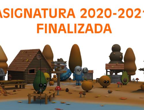 ¡Asignatura 2020-2021 finalizada!!